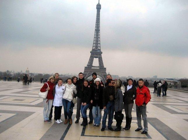 Ajfelov toranj, Pariz, 2010.