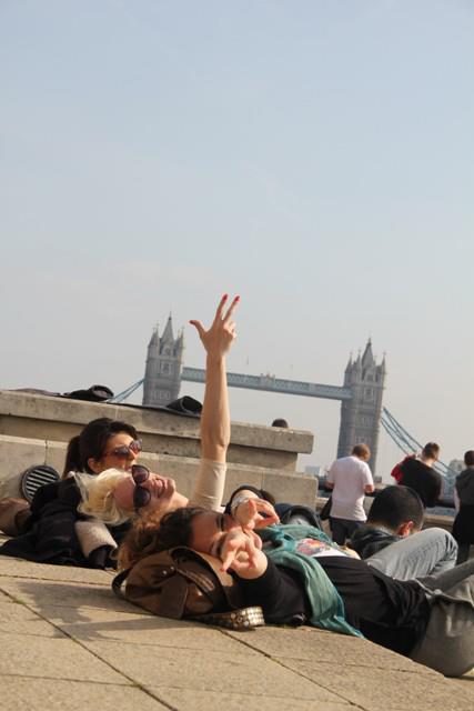 Tower Bridge, London, 2012.
