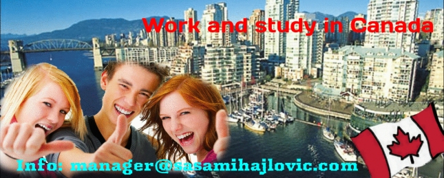 Work and Study in Canada -Sale cover