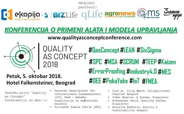 Quality as a Concept - Conference in Belgrade